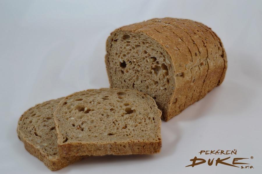 chlieb fínsky, celozrnný, chlieb